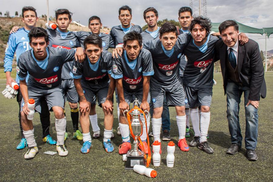 Publicidad y Marketing Campeón del Toreno de Futbol 8 Unifranz 2-2016