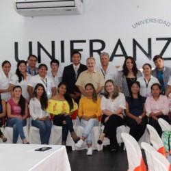 Las máximas autoridades de la Unifranz de la sede de Santa Cruz ofrecieron un Almuerzo en Honor a los alumnos de excelencia académica