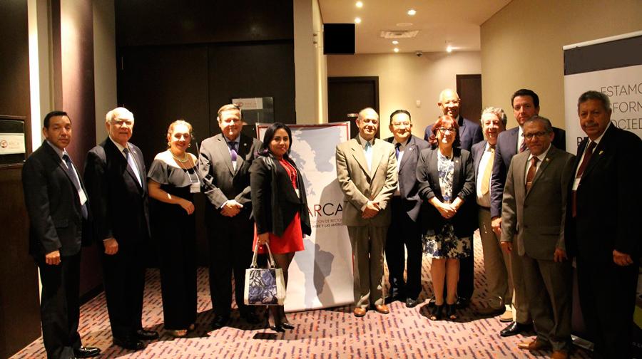 UNIFRANZ integra la Asociación de Rectores del Caribe y las Américas (ARCA)