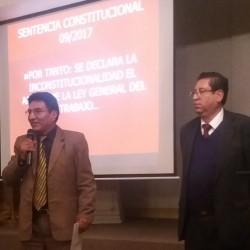 Seminario de Estabilidad Laboral y la Vigencia del Pre-aviso