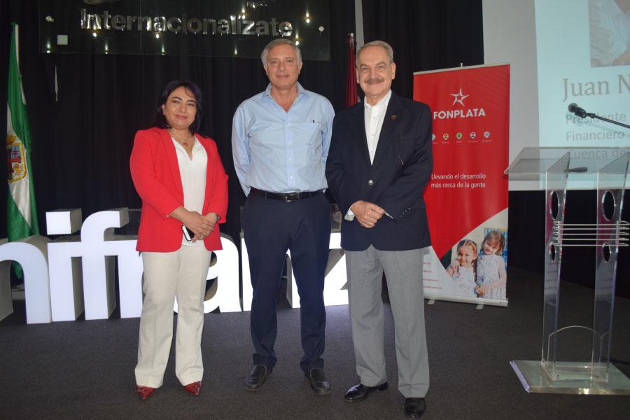 Unifranz recibió la visita del Presidente Ejecutivo de FONPLATA