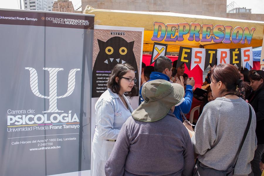 Psicología presente en la Primera Feria de Orientación Psicológica Ciudadana