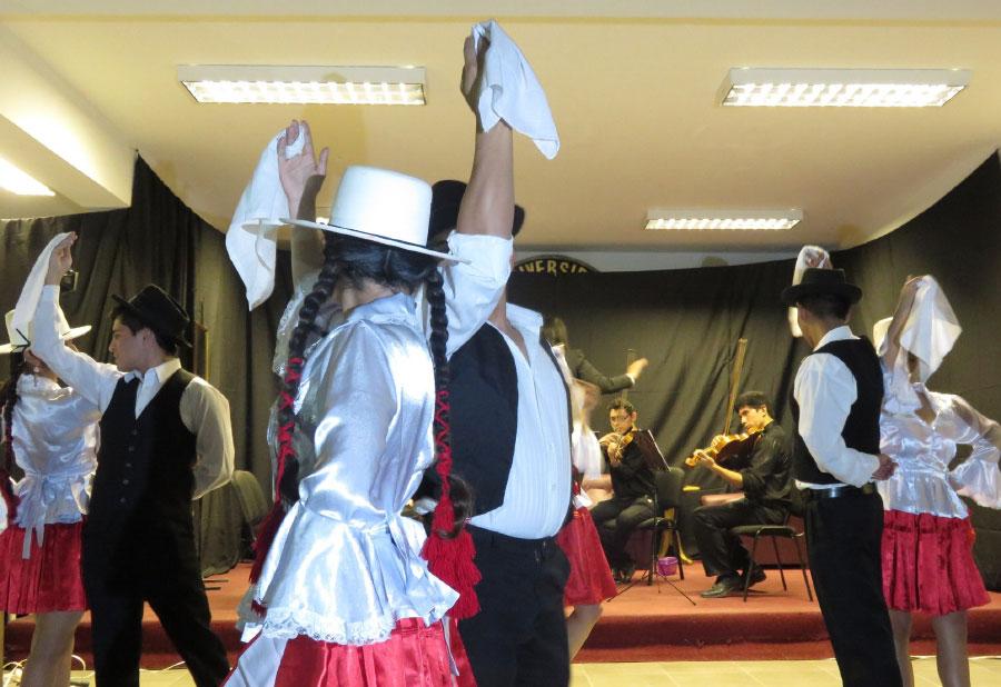Promoviendo la cultura entre la comunidad universitaria UNIART I-2016