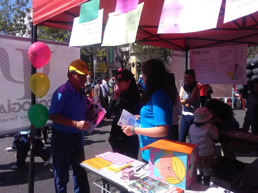 Unifranz presente Feria Dominical El Prado