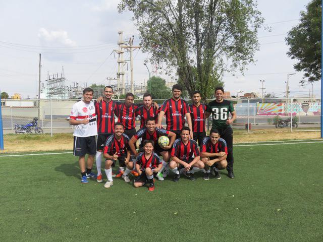 Gran final del Campeonato de Fútbol 7 UNIFRANZ 2015