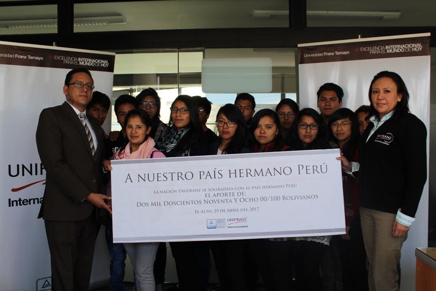 Porque Juntos Todos Surgimos. Solidaridad con Perú.