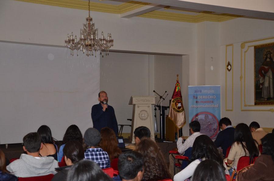 Cooperación Suiza capacita a Estudiantes de Unifranz Sede La Paz sobre Movilidad Urbana Sostenible
