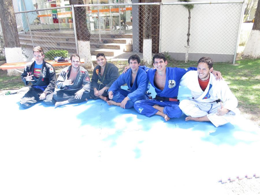 Maestro de Jiu Jitsu Pedro Thiago Martin en UNIFRANZ