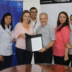 UNIFRANZ y el Banco Unión firmaron un convenio Académico Interinstitucional