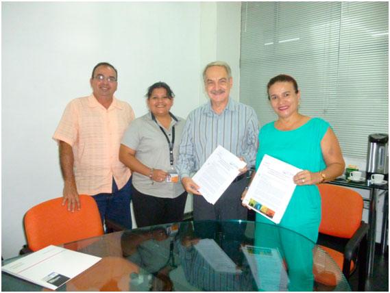 Firma del Convenio con el Centro Nacional de Enfermedades Tropicales