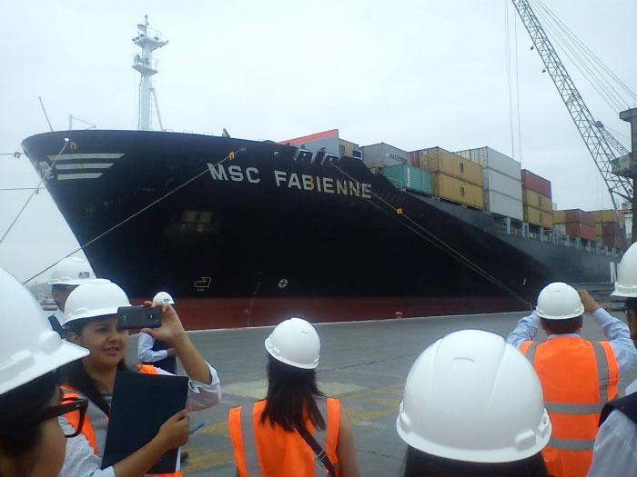 Viaje de estudios al de Puerto de Arica