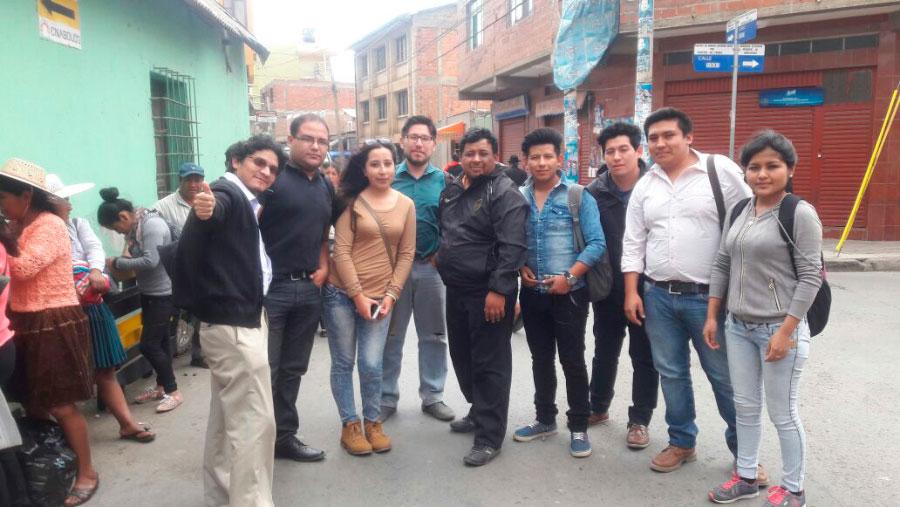 Estudiantes Voluntarios Unifranz para la Actualización de la Situación Legal de la Población Carcelaria en la Ciudad de Cochabamba