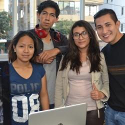 Estudiantes de Ingeniería de Sistemas de UNIFRANZ presentan sus proyectos finales en la EXPOTECH 2017