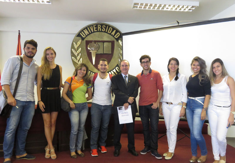 Visita del Cónsul de Brasil