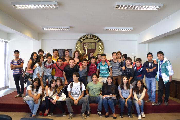 Jornada de Inducción Estudiantil 1-2016. Sede Cochabamba