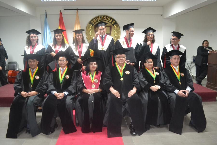 Décima Primera Promoción de graduados de la sede Cochabamba