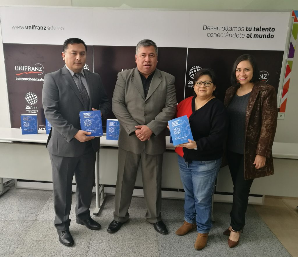 "PRESENTAN EL LIBRO ""MANUAL DE MEDICINA LEGAL EN EMERGENCIAS"""