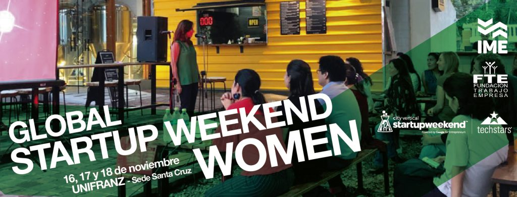 INSTITUTO DE LA MUJER & EMPRESA DE UNIFRANZ LANZA GLOBAL STARTUP WEEKEND WOMEN