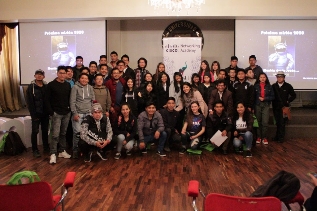 "UNIFRANZ PIONERA EN LA REALIZACIÓN DEL ""GIRLS TALENT IN TECH SPEED UP"""