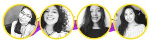 Mairela Soliz, Natalia Daza , Evelyn Mendoza y Ytai Barrios