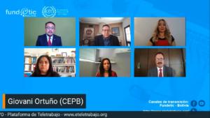 Sector privado y UNIFRANZ se suman al reto del teletrabajo en Bolivia